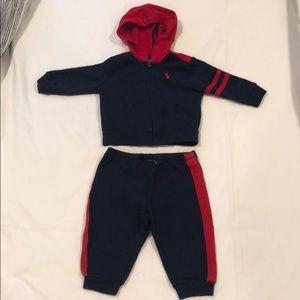 Baby boys Ralph Lauren sweatsuit 9M